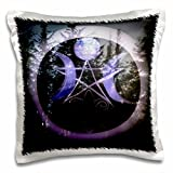 WhiteOaks Photography and Artwork - Halloween - Samhain Design is my yearly creation designed for a pagan holiday - 16x16 inch Pillow Case (pc_245653_1)
