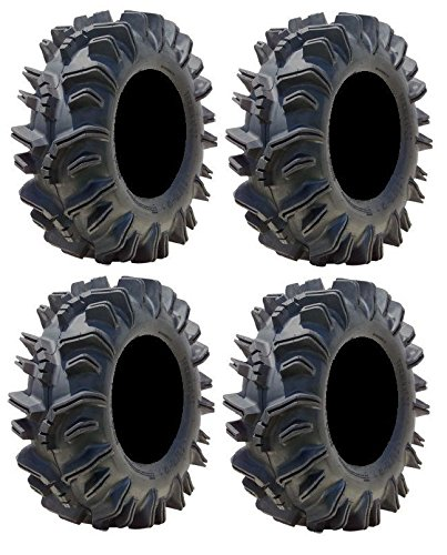 Full set of Super ATV Terminator (6ply) ATV Mud Tires 34x10-15 (4)