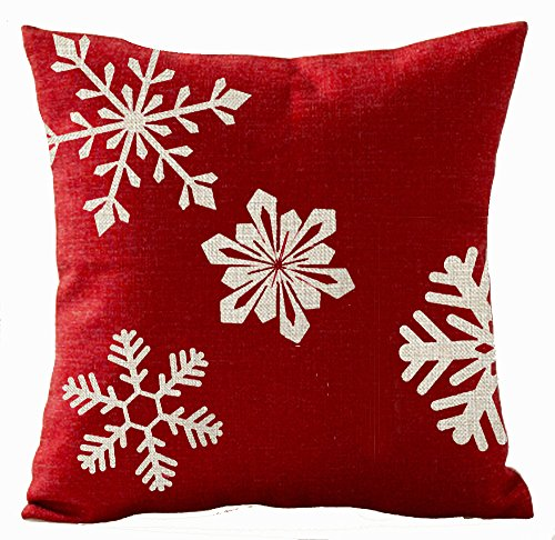 Holiday Red Snowflake - 6