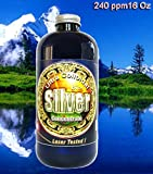 Liquid Silver 16 oz. 240 PPM , Silver Mountain Minerals, (Medical Purity Silver most Bioavailable colloidally suspended nano particles)
