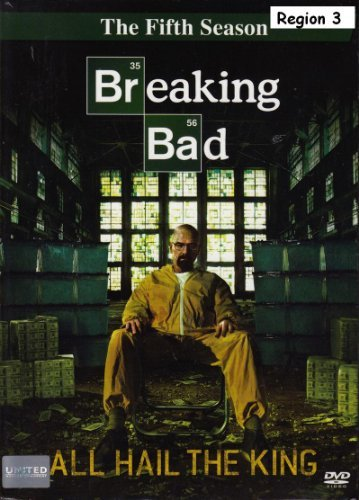 Breaking Bad: The Fifth Season (DVD Box Set 3 Disc) - Language:English,French