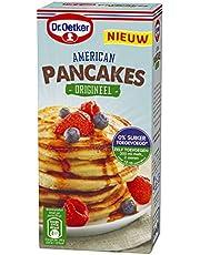 Dr. Oetker American Pancakes Origineel, luchtige pannenkoeken mix voor 14 stuks (multipack 6 x 300 gr)