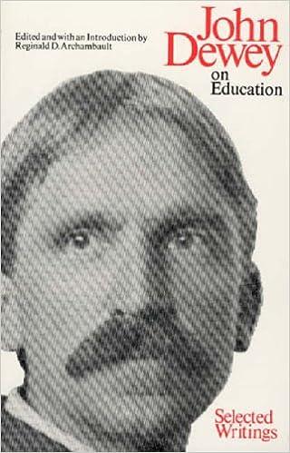 Book John Dewey, On Education: Selected Writings