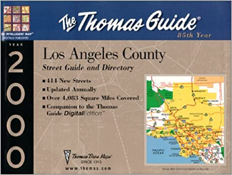 Thomas Guide 2000 Los Angles County: Street Guide and ... on morrell map, mccormick map, lily map, jeanette map, a.t. map, p.a map, harding map, theran map, leich map, rupert map, jones valley map, supreme map, morgan map, missouri general assembly map, papas map, caban map, adan map, barbosa map, thorns map, s.s. map,