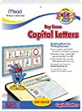 Mead Capital Letters Dry Erase Book, 10-5/8 x 8-Inches, 13 Pages (54210)