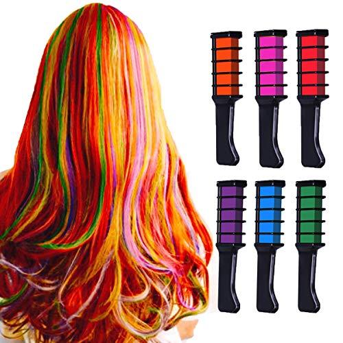 New Hair Chalk Comb Temporary Bright Hair
