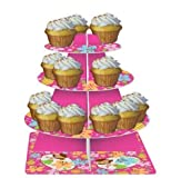Tiered Server, Pink Luau Fun