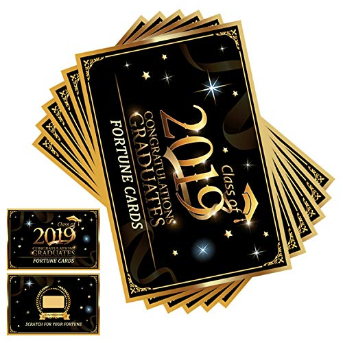 - AOPOO Graduation Fortune Cards 2019 Graduation Party Favors Suppliers Party Games Scratch off Fortune Cards - 36 Count