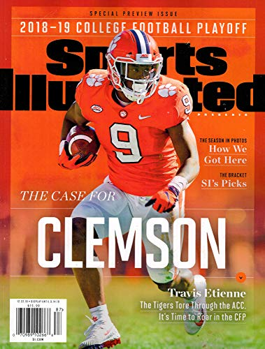 Sports Illustrated 2018-2019 - College Football Playoff - Special Issue Preview (College Football 2018)