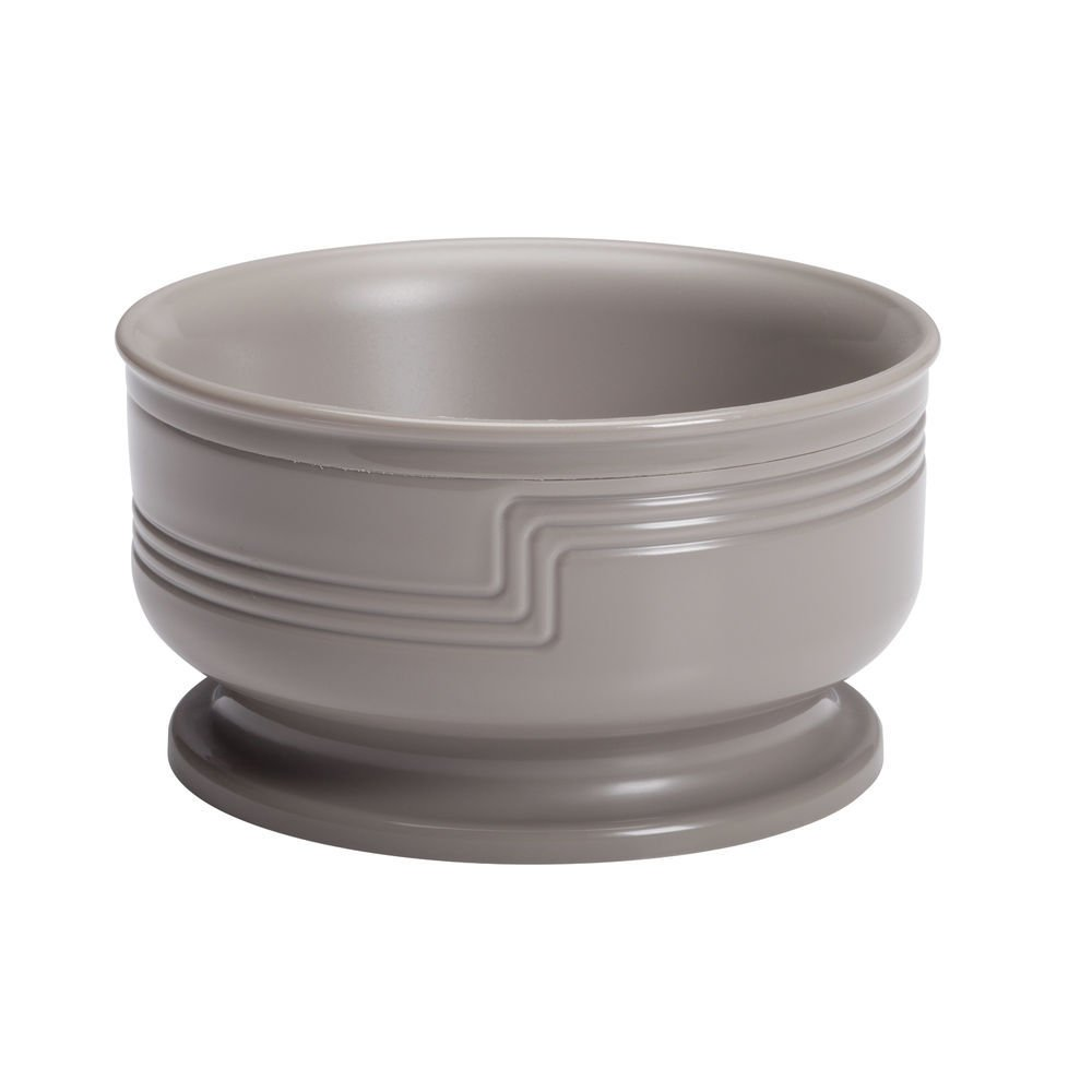 Cambro Shoreline Collection 9 Oz Large Wheat Beige Plastic Insulated Bowl - 4 3/8 Dia x 2 3/8 H by CAMBRO MFG COMPANY