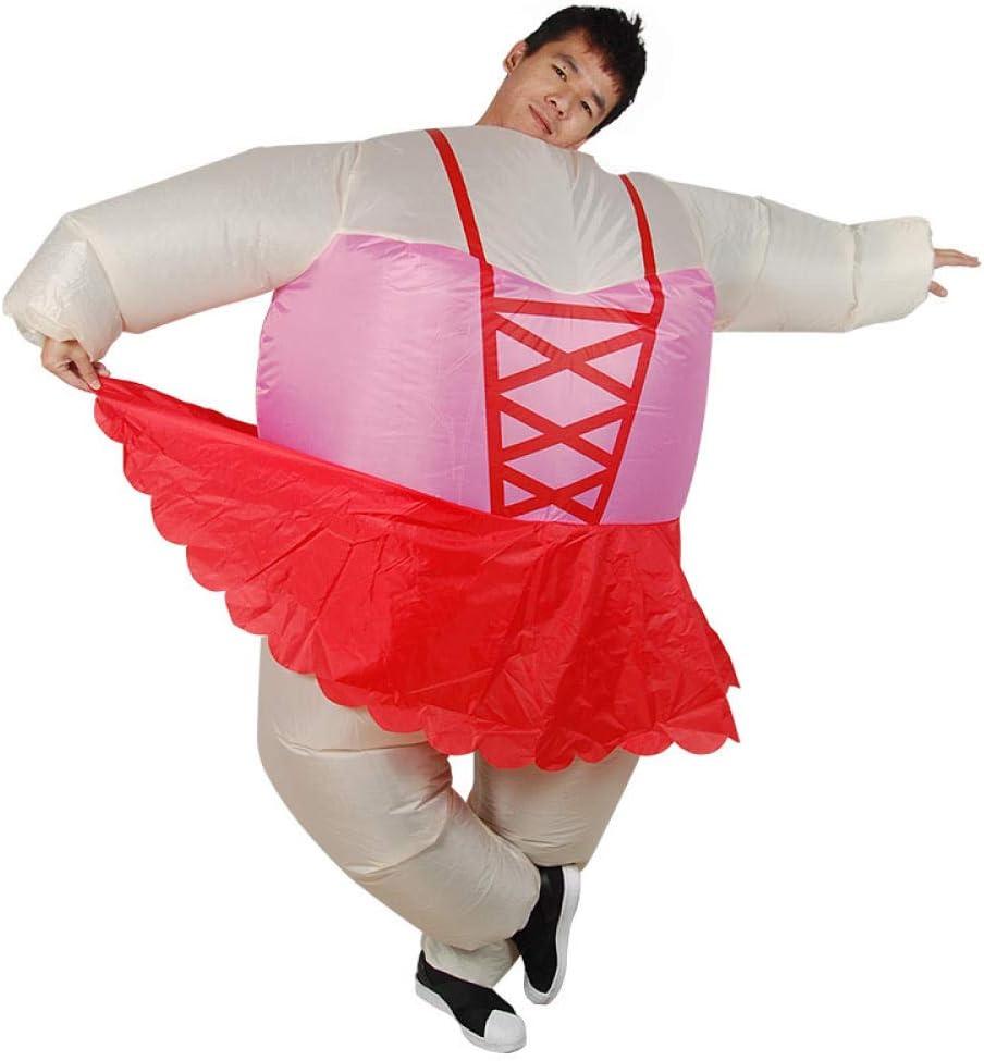 ypyrhh Traje Hinchable, Disfraz de Halloween, Ropa Inflable de ...