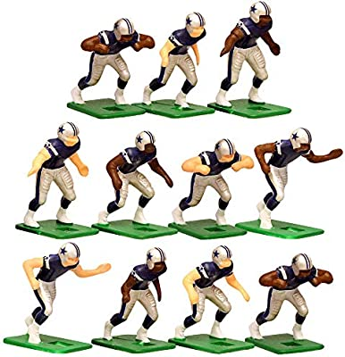 low priced c8933 db424 Dallas Cowboys Home Jersey NFL Action Figure Set