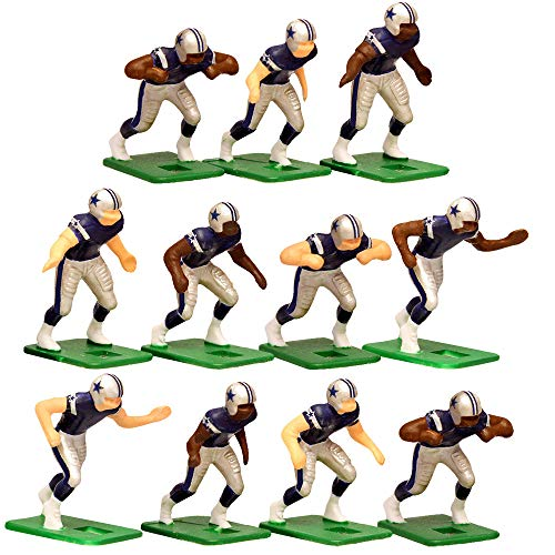Dallas Cowboys Home Jersey NFL Action Figure Set -