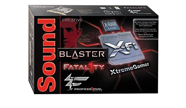 CREATIVE X-FI FATALITY XTREMEGAMER DRIVERS FOR WINDOWS DOWNLOAD