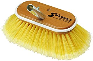 Shurhold 955 6' Deck Brush with Medium Yellow Polystyrene Bristles