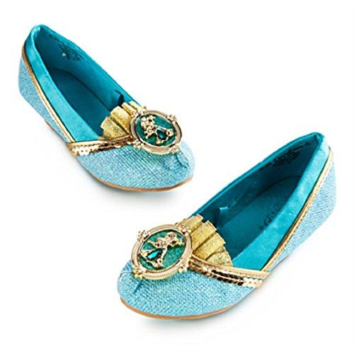 Disney - Jasmine 2014 Costume Shoes for Girls - Size 11/12 - NEW