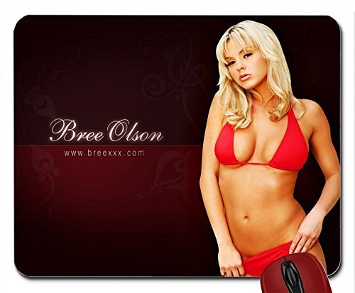 Price comparison product image Bree Olson mouse pad computer mousepad