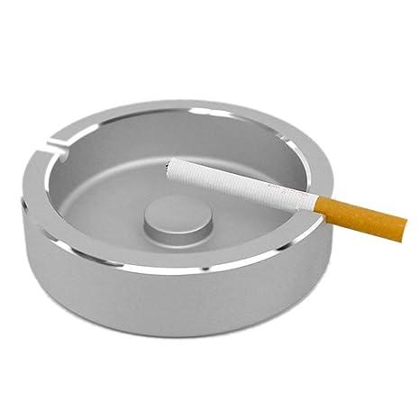 XQCYL Cenicero Cigarrillo De Metal Bandeja De Cenizas Para La Decoración De La Oficina En El