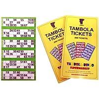 Tambola Bingo Tambola Tickets: Green Border
