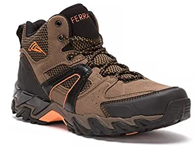 Hi-Tec Mesh & Suede Men's Ankle Boot Breathable All Terrain Backpacking Shoe