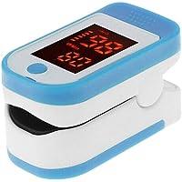4 en 1 Oxímetro de Pulso de Dedo con Pantalla OLED, Monitor Digital de Frecuencia de Respiración RR, Frecuencia Cardíaca PR, Saturación de Oxígeno en Sangre SpO2 e Indice de Perfusión PI