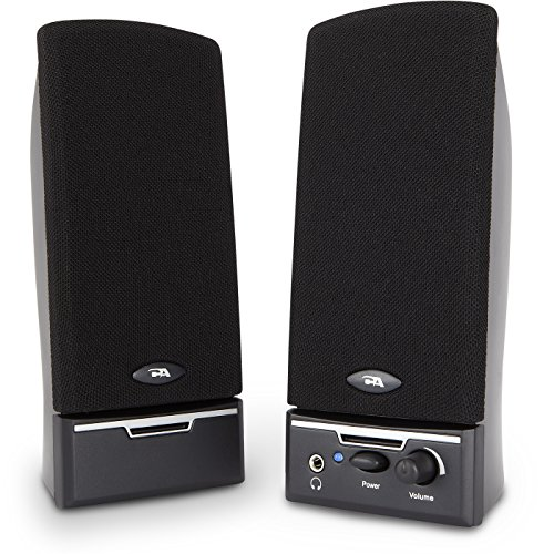 (Cyber Acoustics CA-2014 multimedia desktop computer speakers)
