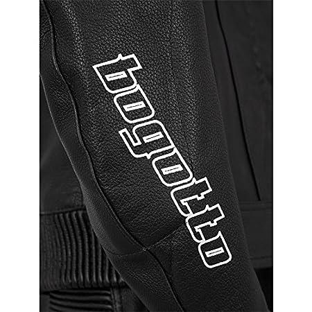 Bogotto ST-Evo Femme Combinaison en cuir en 2/parties noir//blanc Taille 34