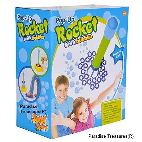 Bubble Blasting Air Rocket Bubble Machine