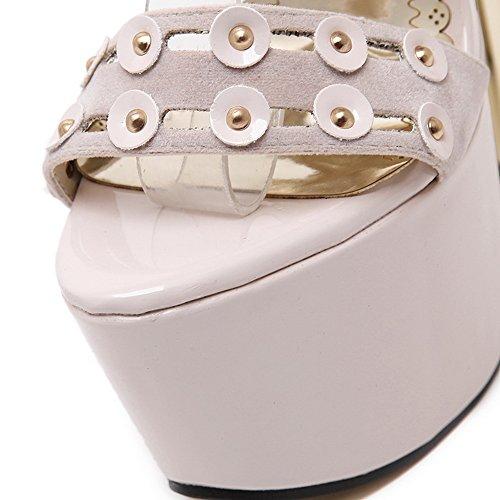 AdeeSu AdeeSuSdcg00066 - Ballerine Donna, Beige (Apricot), 35