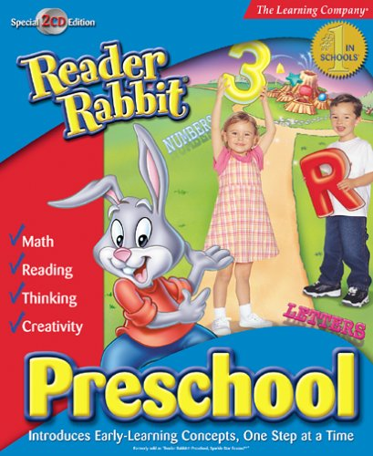 Reader Rabbit PreSchool  [OLD VERSION] by The Learning Company
