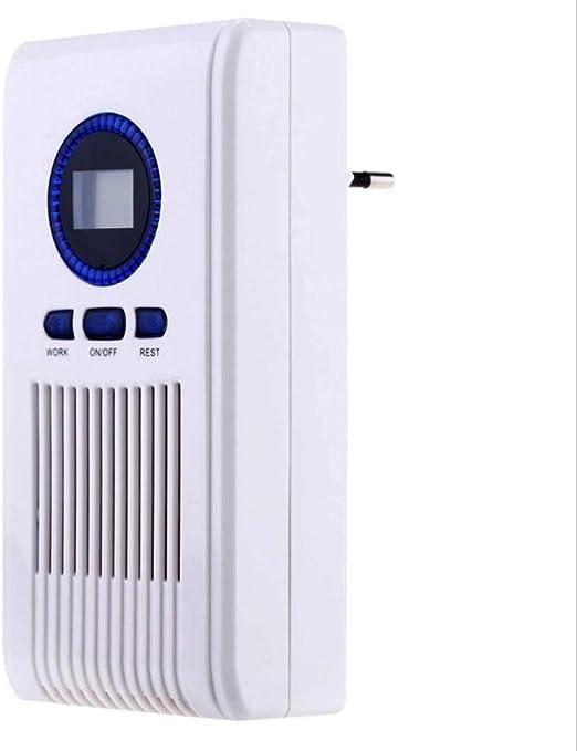 XF&CR Generador de ozono Purificador de aire Baño Desinfectante Máquina Filtro de aire para Baño Estantes de zapatos con LED Monitor Sincronización Función: Amazon.es: Hogar