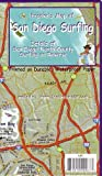 Franko's Map of San Diego, California Surfing