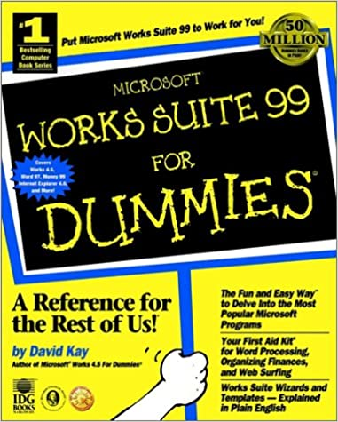 Amazon microsoft works suite 99 for dummies 0785555001473 microsoft works suite 99 for dummies 1st edition pronofoot35fo Gallery