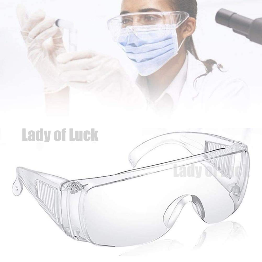 Gafas de Seguridad, Lentes de Protectoras Antivaho Transparent para Laboratorio Agricultura Industria