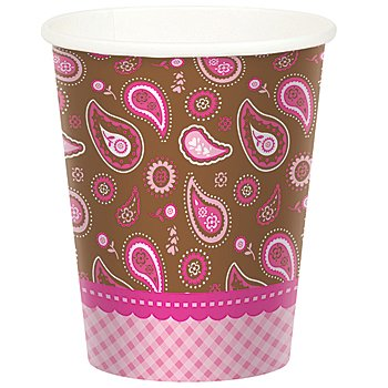 Cowgirl Cutie Paper Birthday Cups Package of 8