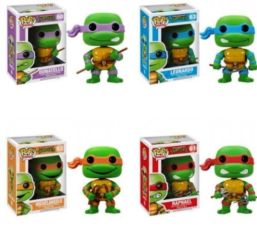 pop heads ninja turtles - 1