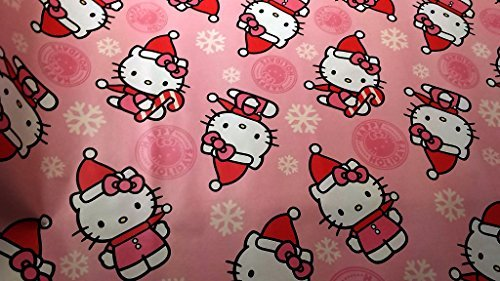 Christmas Wrapping Hello Kitty Holiday Paper Gift Greetings 1 Roll Design Festive Wrap Kitty - Sf Men Macys