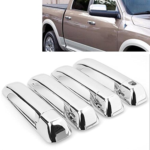 New Arrival Chrome Side Door Handle Cover Trim Fit for Dodge Ram 1500 2500 3500 2009-2017