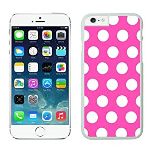 BINGO discount Polka Dot Mei red and White iPhone 6 plus Case white covers