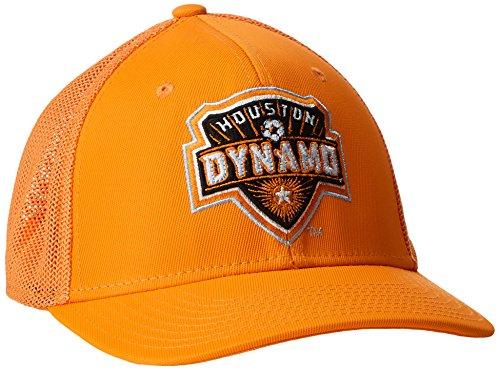 3469a1ab82aca MLS Houston Dynamo Adult Men MLS SP17 Fan Wear Tactel Trucker Flex Cap