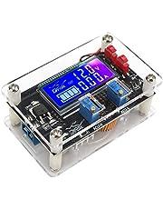 DROK® DC-DC Adjustable Buck Voltage Converter Stabilizer 6-32V to 1.25-32V LCD Display Constant Volt Amp 6V 12V 24V Step Down Voltage Regulator Power Module with USB Port Protective Shell