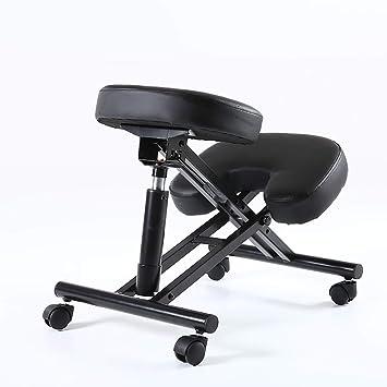 Yoga Chair Elegante Forma ergonómica Silla arrodillada para ...