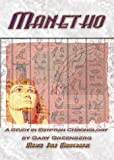 Manetho : A Study in Egyptian Chronology, Greenberg, Gary, 0971468370