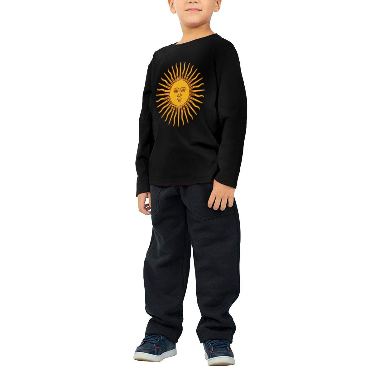 Toddler Argentina Sun ComfortSoft Long Sleeve T-Shirt