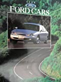 1996 Ford Taurus / Contour / Mustang / Thunderbird / Probe / Escort / Crown Victoria / Aspire Sales Brochure