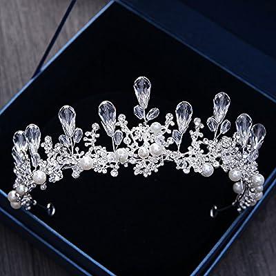 MDRW-Accessoires De Cheveux De Mariée En Épingle À Cheveux/Mariage/fête/femme chaton coiffe baroque de cristaux de diamant.robe pearl.