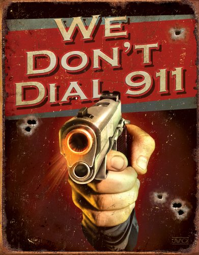 sign we dont dial 911 - 5