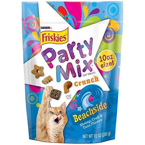 Friskies Party Mix Cat Treats, Beachside Crunch, Shrimp, Cra