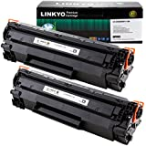 2-Pack LINKYO Compatible Toner Cartridges Replacement for Canon 128 (Black)