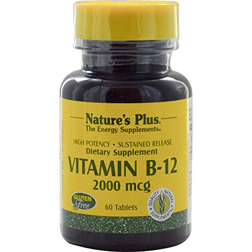 Vitamin 2000mcg Natures Plus Sustained product image